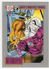 figurina TRADE CARD 1991 DC COMICS numero 62 METAMORPHO