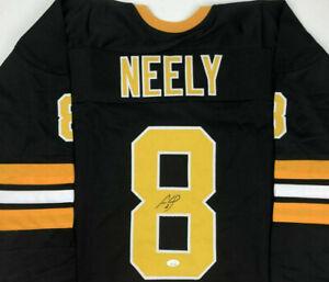 Cam Neely Signed Bruins Black Jersey (JSA) Boston Right Winger 1986 to 1996