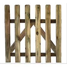 Cancelletto legno impregnato 100x100hcm Papillon