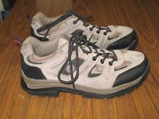 NEVADOS Mens Gray Suede Low Hiking Trail Shoes Sturdy & Rugged Size 9.5 EUC
