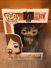 Funko Pop Daryl Dixon Prison Suit #578 The Walking Dead  FYE Exclusive In Hand!!