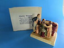 """Vintage Sebastian Miniatures America Remembers """"A Family Sing� Signed 1978"""