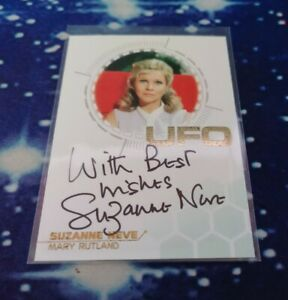 UFO Series 3 Trading Cards: Suzanne Neve Gold Foil Autograph Card SN1