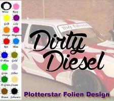 Dirty Diesel Old School Ruß Aufkleber Sticker JDM Hater Fun OEM Feinstaub VW