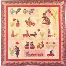 RABBITS PREFER CHOCOLATE BLOCK OF THE MONTH QUILT PATTERN, By Bunny Hill Designs