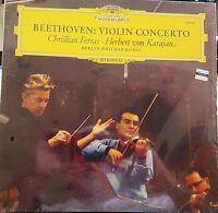 FERRAS / VON KARAJAN Beethoven Violin Concerto DGG 139 021 Stereo NEW sealed