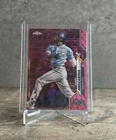 2020 RANDY AROZARENA PINK WAVE RC Topps Chrome Update SP Tampa Bay Rays Rookie