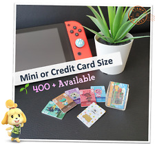 🌱 ANY Animal Crossing Custom Amiibo Cards New Horizons ACNH Nintendo Switch