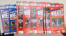 Wheaties Cereal boxes Super Bowl Replay card Namath Aikman Young Stauback + 1996