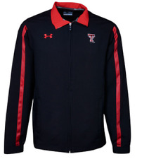 Texas Tech Red Raiders Under Armour Mens Dominance Woven FZ Jacket 497235 L $90