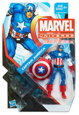 "CAPTAIN AMERICA ( 4"") 2013 MARVEL UNIVERSE SERIES #5 ACTION FIGURE #004 AVENGERS"