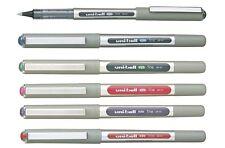 Uni-Ball Uniball EYE UB-157 Liquid Ink Roller Ball Pens PACK of 6 ASSORTED
