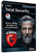 G DATA Total Security 2019 * 1 PC 1 Jahr * Protection GData * Lizenz