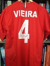 JUVENTUS CENTENARIO SCUDETTO SIGNED VIEIRA FRANCE 2005 2006 05 06 CENTENARY