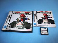 Mario Kart DS Mariokart Cart (Nintendo DS) Lite DSi XL 2DS 3DS w/Case & Manual
