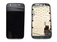 Original Motorola Moto G XT1032 LCD Display Touchscreen Glas mit Rahmen Schwarz