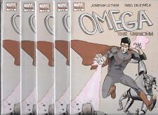 OMEGA THE UNKNOWN #1 - LOT OF 5 COPIES (NM-)