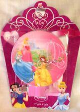 Disney Princess Night Light Sleeping Beauty Belle Cinderella New in Pkg