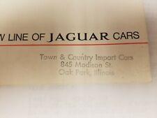 Jaguar 420 New Jaguar Service Manual Charts Diagrams Maintenance Workshop Manual