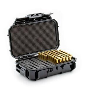 Evergreen 100 Round Bullet Locking Storage Case - Travel Safe/Mil Spec/USA Made