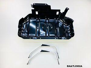 Fuel Tank Skid Plate & Straps Jeep Wrangler TJ 2.5L 4.0L 1997-2006 BAA/TJ/002A