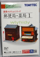 Post Office & Dispensary No.1 N Scale 1:150 - Tomytec    ^_^1