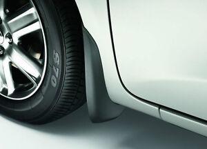 Genuine Toyota IQ Front Mudflap Mudflaps Set PZ416-I0960-00 Accessory New Fr