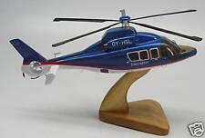 EC-155 Eurocopter EC155 AS365 Helicopter Desktop Wood Model Big New