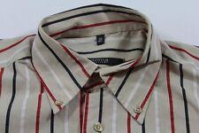 E5605 Eterna Excellent Businesshemd Kurzarm 40 Mehrfarbig gestreift Neuwertig