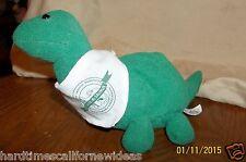 Green Tyrannosaurus Rex Dinosaur Plush Save A Saurus Credit Union Advertisment