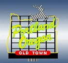 Micro Structures 443502 HO/N  Portland White Stag Small Animated Neon Billboard