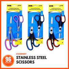 96 x SCISSORS STAINLESS STEEL DIY Scrapbooking Decorating Craft Art Precision