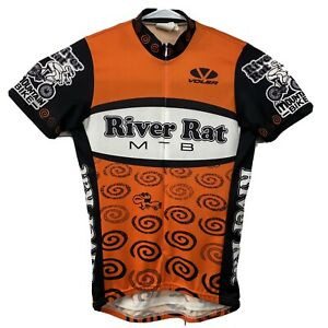 Voler River Rat MTB Mens Cycling Bike Jersey Size Small Orange Mountain Bike