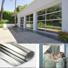 "24""x79"" Window Tinting Film Privacy One Way Mirror Tint Solar UV Heat Reflective"