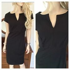 Simply Be Size 14 Laurens Collection Black Slimming Pencil DRESS TOWIE £60 LBD