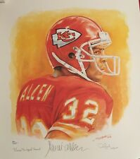 "Marcus Allen Autographed Lithograph ""The Legend Renewed"" Players Proof #18/32"