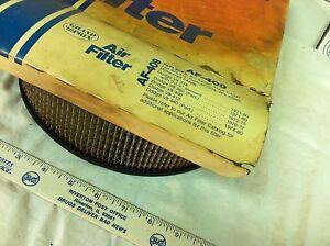 Dodge V8, 1971 to 80, Grand Prix air filter,  AF409.   Item:  1613