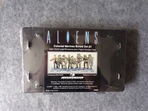 1992 Leading Edge Games Aliens Colonial Marines Set 2 Miniatures (Sealed) Horror