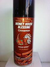 MONEY HOUSE BLESSING CINNAMON AIR FRESHENER AEROSOL ROOM SPRAY CAN 14.4 OZ