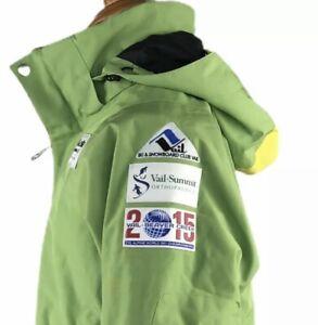 DNA DESCENTE Boys Vail Ski Snowboard Ski Jacket 2015 Alpine World Championships
