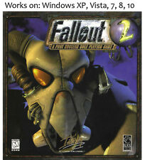 Fallout 2 + Elder Scrolls Arena + Daggerfall PC Game 1998 Win XP Vista 7 8 10
