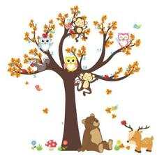 Removable Wall Sticker Zoo Animal Bear Decal For Kids Nursery Baby Room Deco