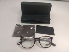 New Authentic Persol 3117 V 24 Havana/Silver 51-19-145 ITALY MADE W/BOX 4788
