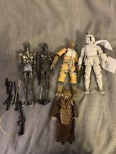 star wars black series bossk And Bountyhunters Lot?