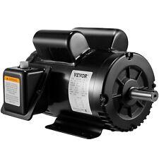 5 Hp Air Compressor Duty Electric Motor 145t Frame 3450 Rpm Single Phase Vevor