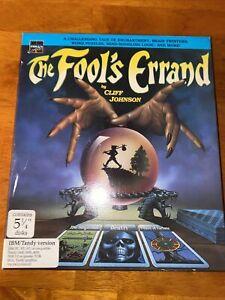 "Fool's Errand PC 5 1/4"" Discs IBM/Tandy"