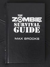 """Max Brooks Zombie Survival Guide Lettered """"J"""" Cemetery Dance"""