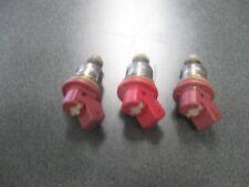 SET OF 3 MERCURY OUTBOARD 200HP FUEL INJECTORS 804528