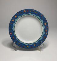 "SAKURA Splash 8"" Salad Plate (1993 ) By SUE ZIPKIN Microwave Safe"
