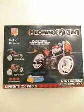 Block Tech Mechanix 3 in 1 Motorbike Custom Kit 235 Pieces 6-12 Years